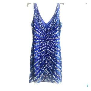 Cocktail Dress w/sequins Size 8